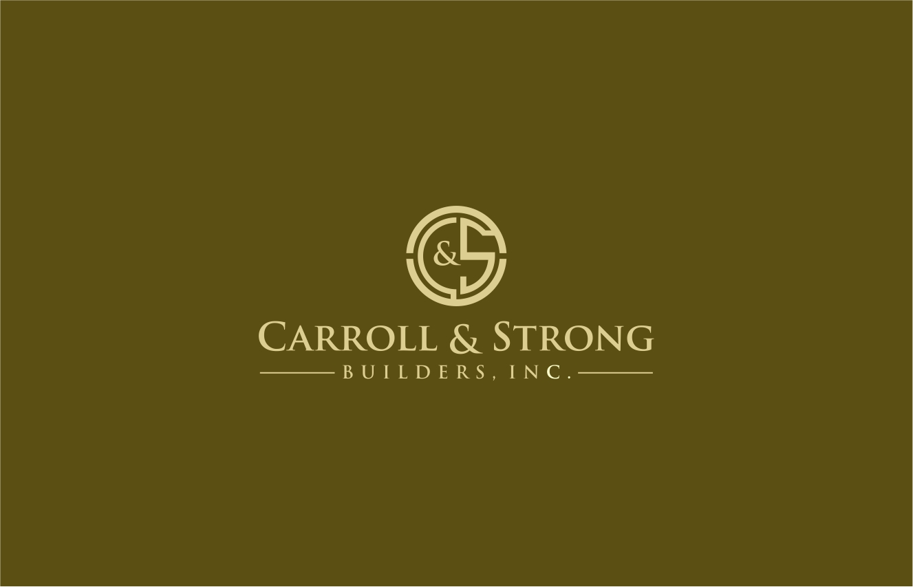 Logo Design by haidu - Entry No. 53 in the Logo Design Contest New Logo Design for Carroll & Strong Builders, Inc..