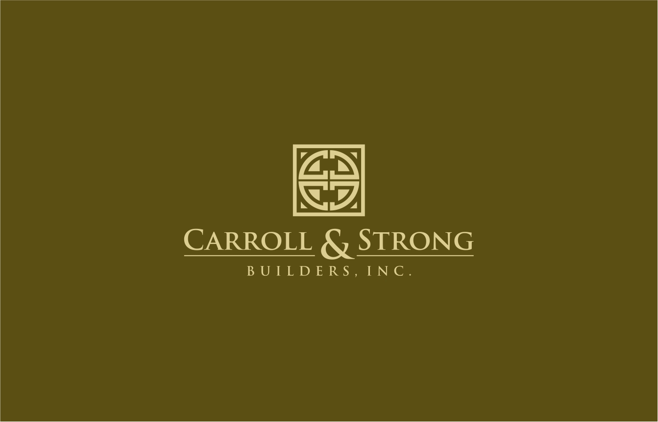 Logo Design by haidu - Entry No. 55 in the Logo Design Contest New Logo Design for Carroll & Strong Builders, Inc..