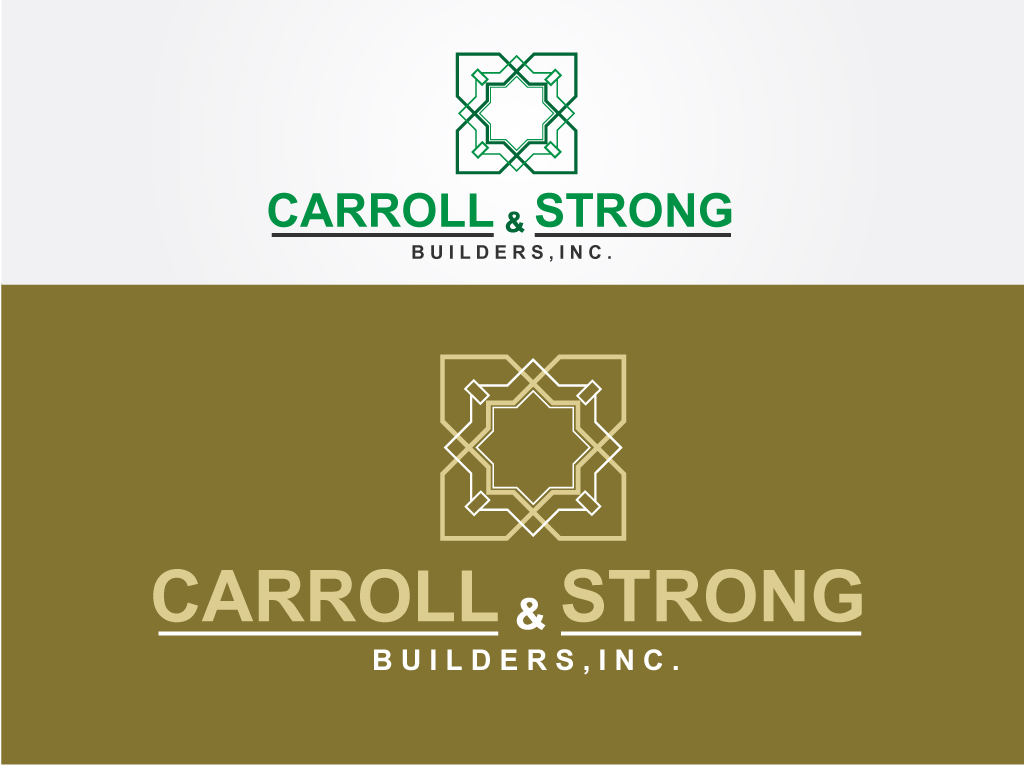 Logo Design by Jagdeep Singh - Entry No. 56 in the Logo Design Contest New Logo Design for Carroll & Strong Builders, Inc..