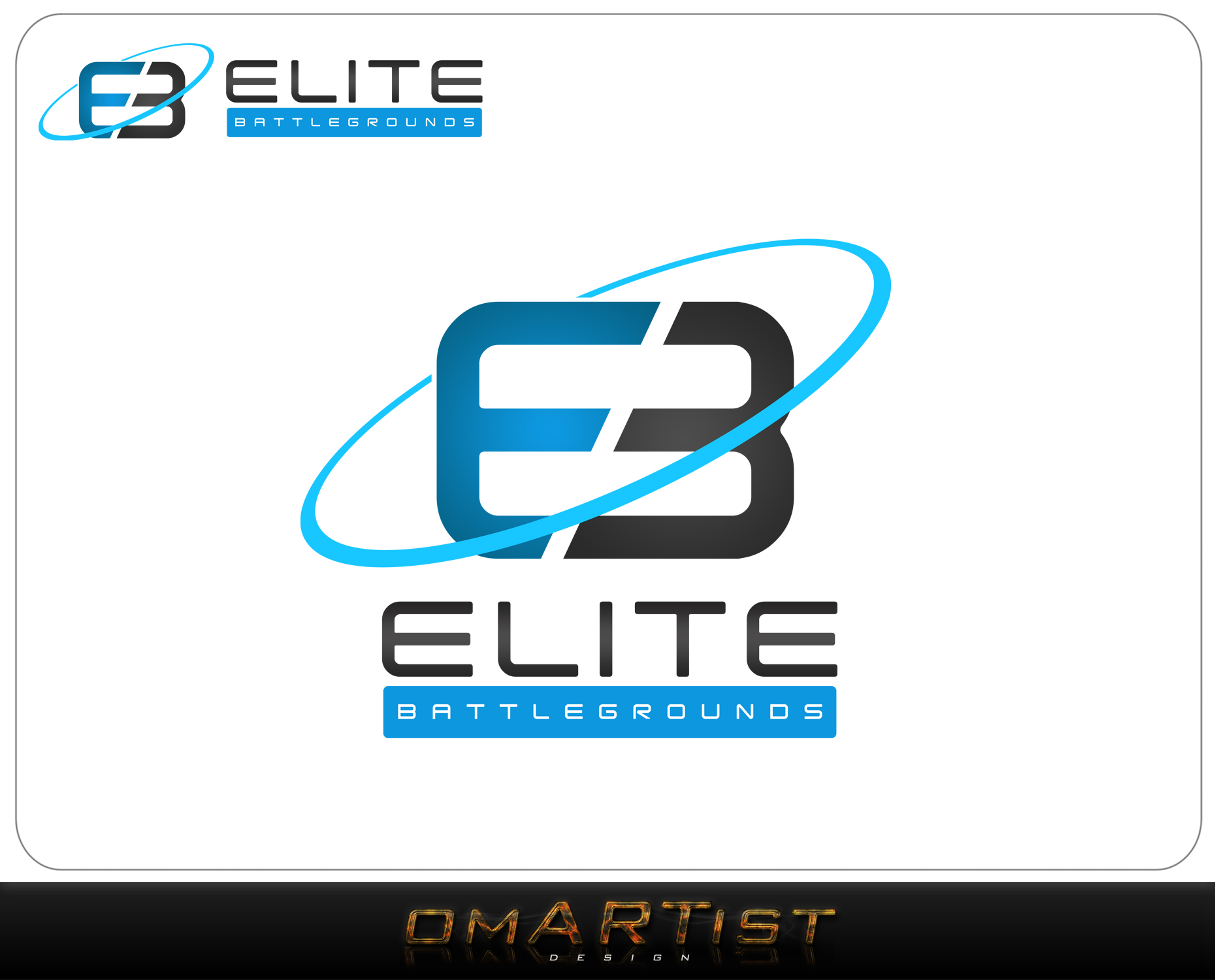 Logo Design by omARTist - Entry No. 95 in the Logo Design Contest Creative Logo Design for Elite Battlegrounds.