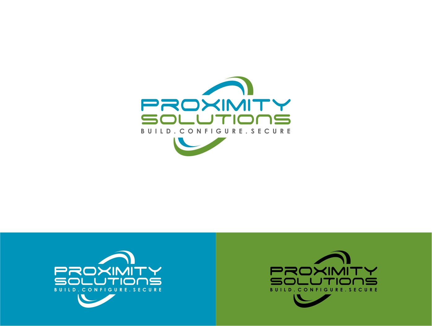 Logo Design by haidu - Entry No. 128 in the Logo Design Contest New Logo Design for Proximity Solutions.