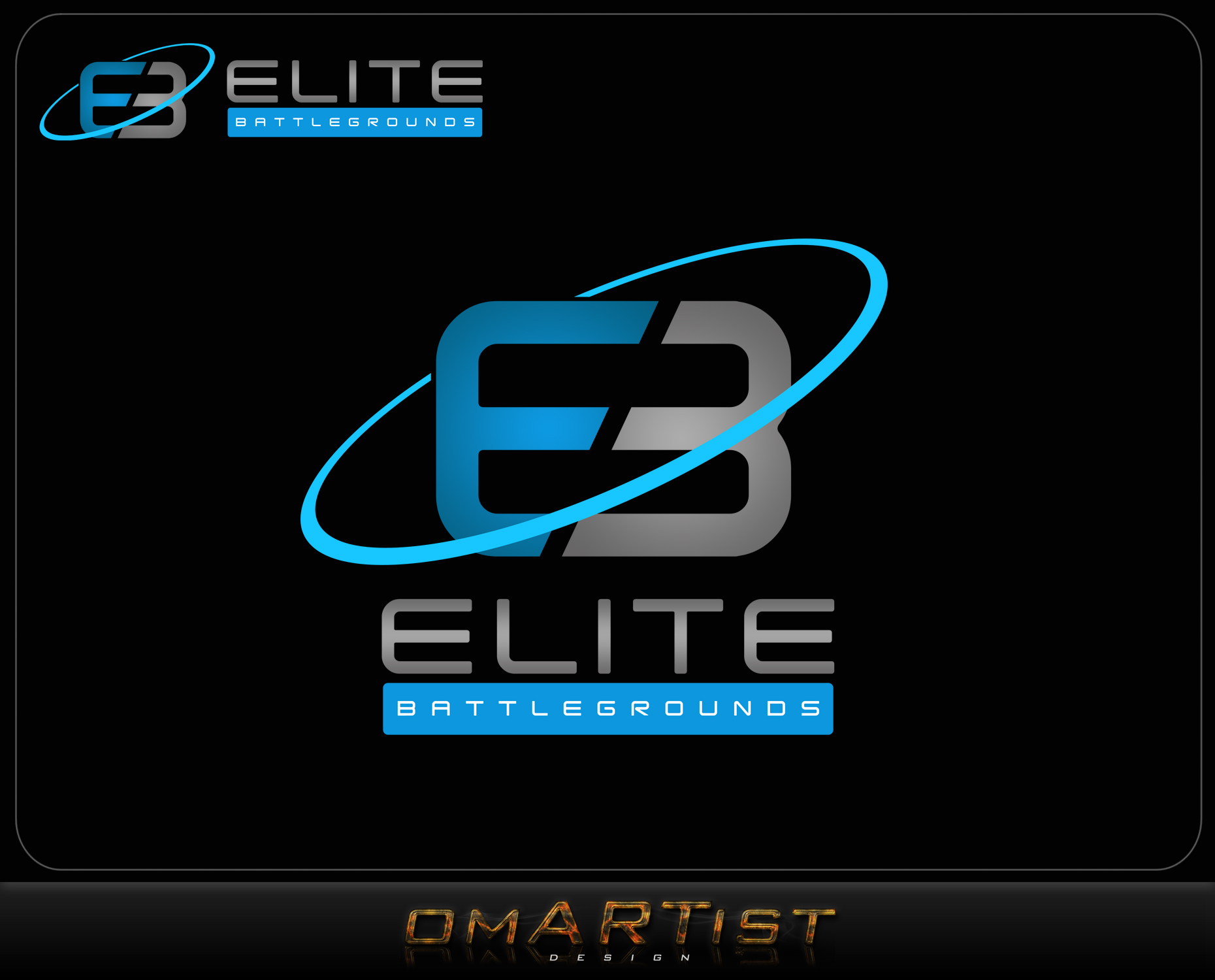 Logo Design by omARTist - Entry No. 97 in the Logo Design Contest Creative Logo Design for Elite Battlegrounds.