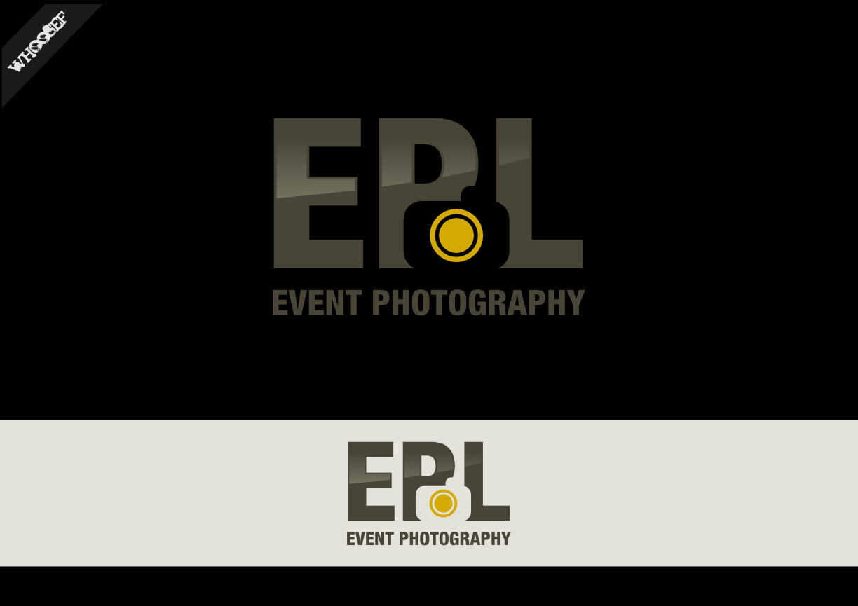 Logo Design by whoosef - Entry No. 34 in the Logo Design Contest New Logo Design for EPL Event Photography.