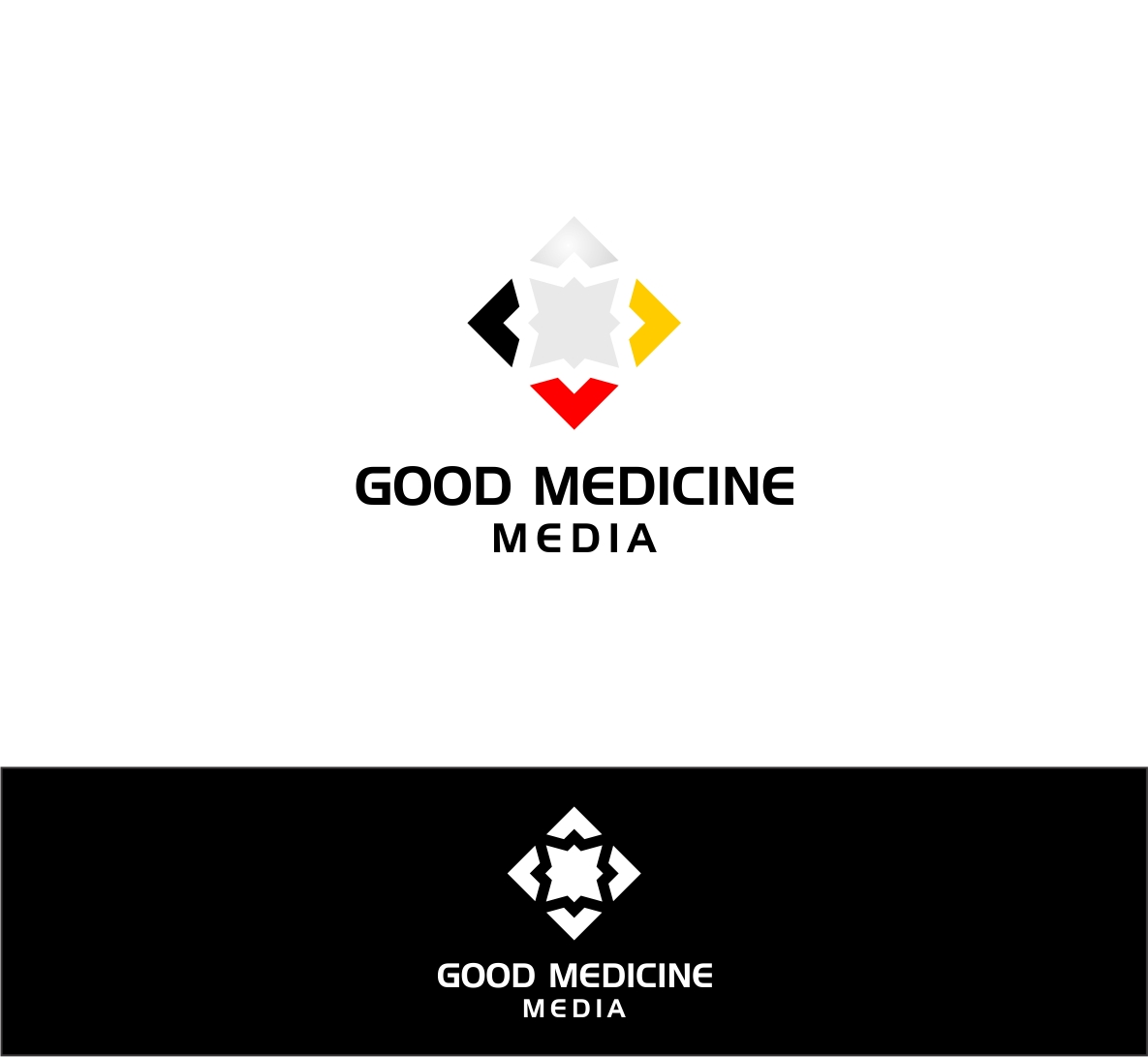 Logo Design by haidu - Entry No. 205 in the Logo Design Contest Good Medicine Media Logo Design.