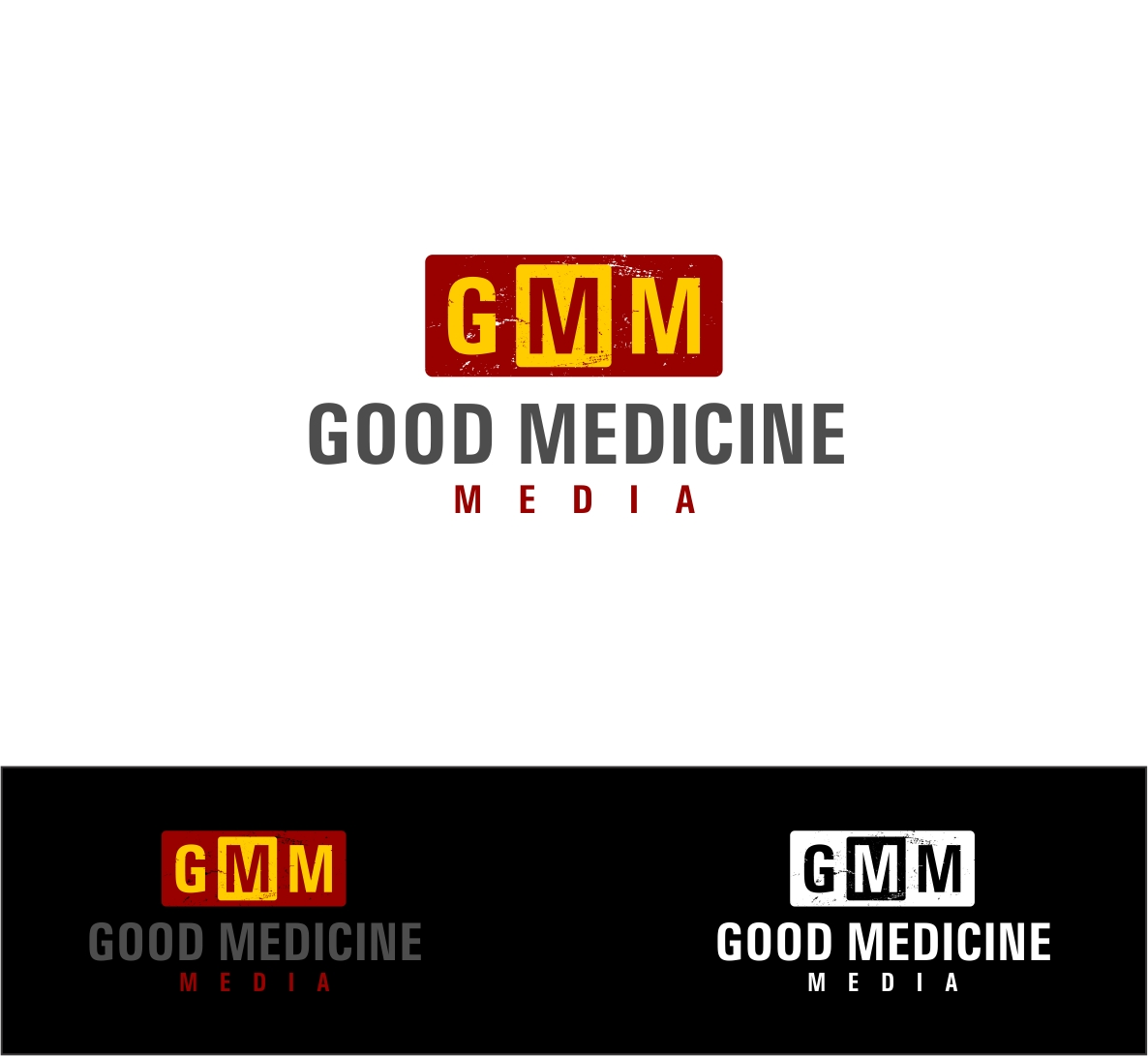 Logo Design by haidu - Entry No. 206 in the Logo Design Contest Good Medicine Media Logo Design.