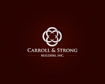 Logo Design by designhouse - Entry No. 57 in the Logo Design Contest New Logo Design for Carroll & Strong Builders, Inc..