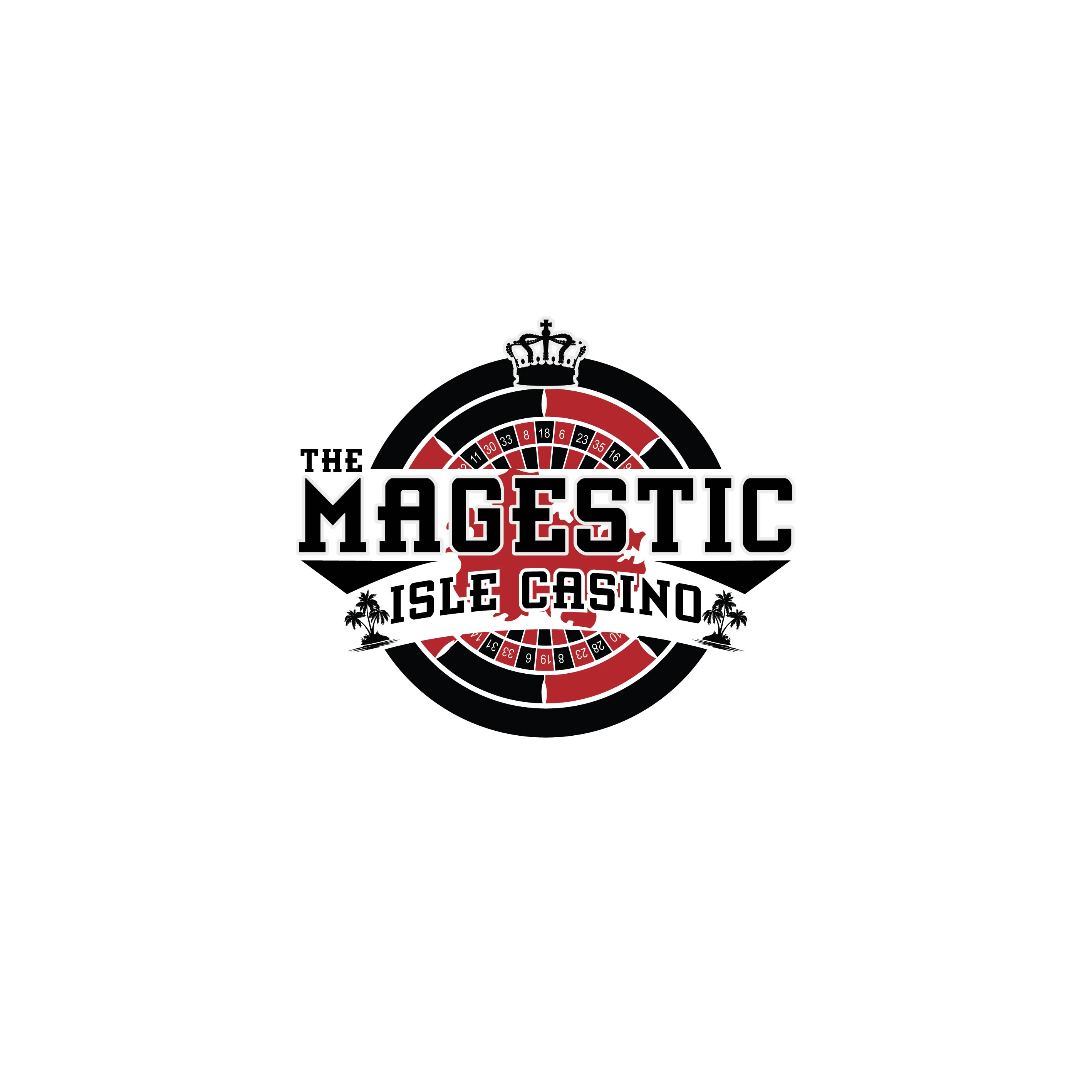 Logo Design by lagalag - Entry No. 21 in the Logo Design Contest New Logo Design for The Majestic Isle Casino.