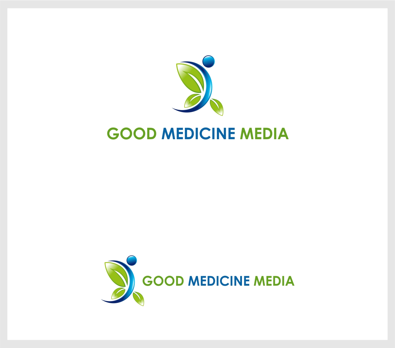Logo Design by haidu - Entry No. 208 in the Logo Design Contest Good Medicine Media Logo Design.