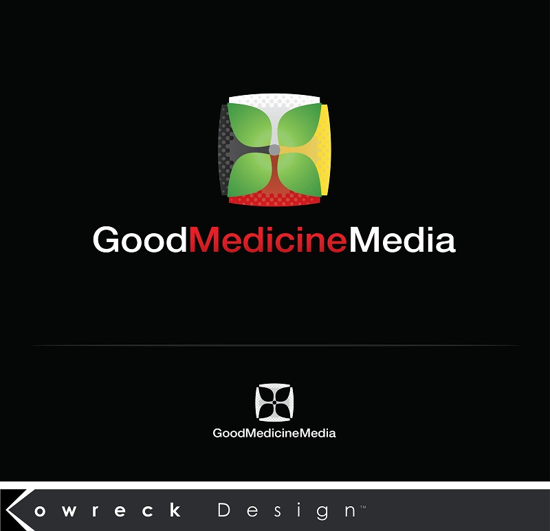 Logo Design by kowreck - Entry No. 210 in the Logo Design Contest Good Medicine Media Logo Design.