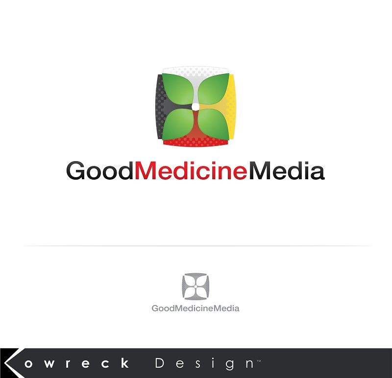 Logo Design by kowreck - Entry No. 211 in the Logo Design Contest Good Medicine Media Logo Design.