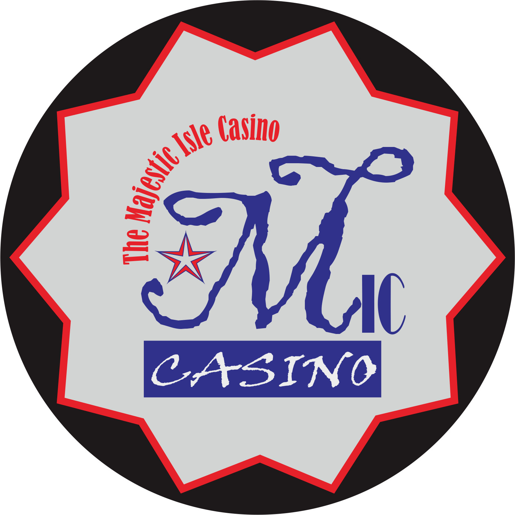 Logo Design by Teguh Hanuraga - Entry No. 23 in the Logo Design Contest New Logo Design for The Majestic Isle Casino.