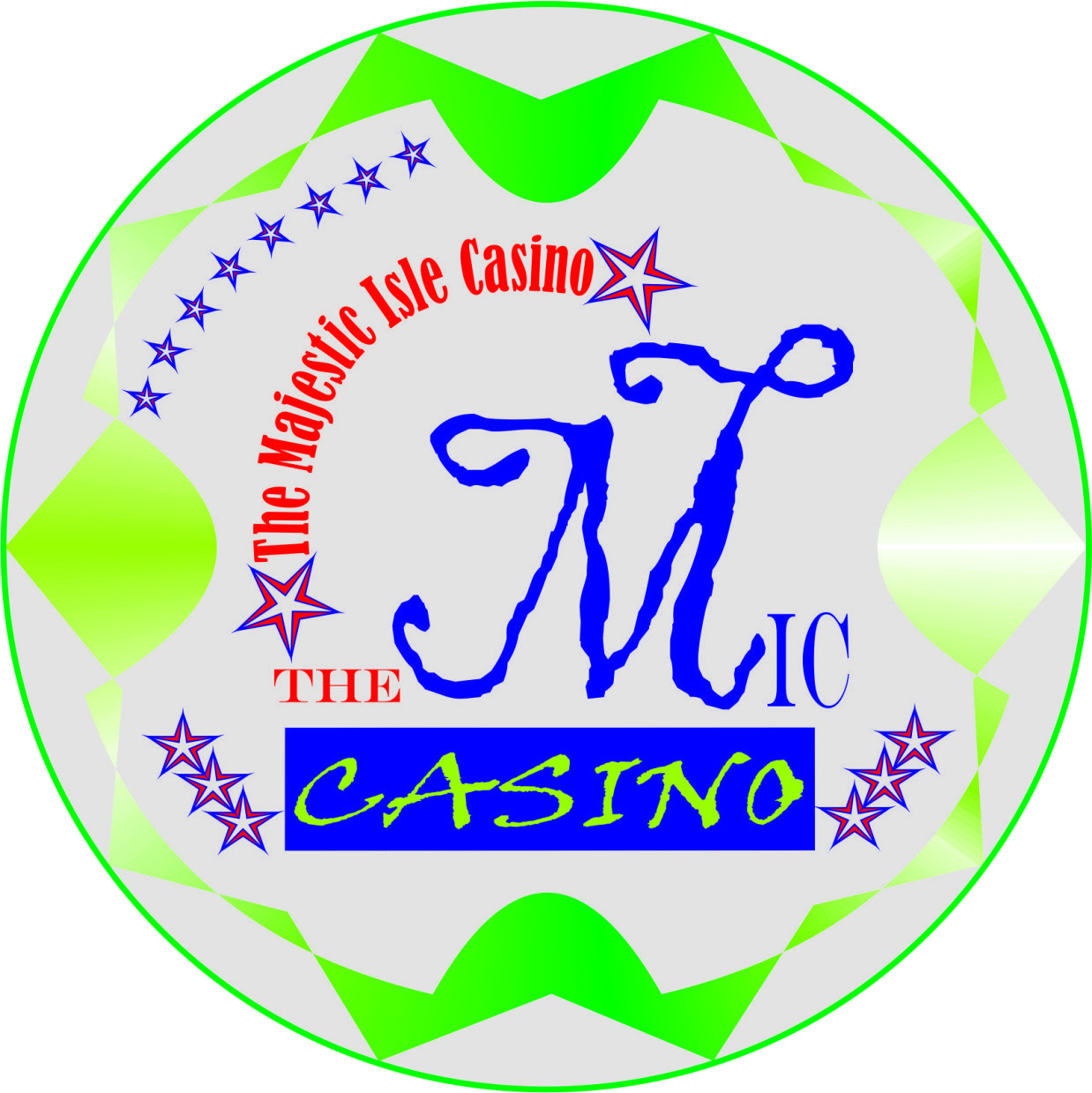 Logo Design by Teguh Hanuraga - Entry No. 24 in the Logo Design Contest New Logo Design for The Majestic Isle Casino.