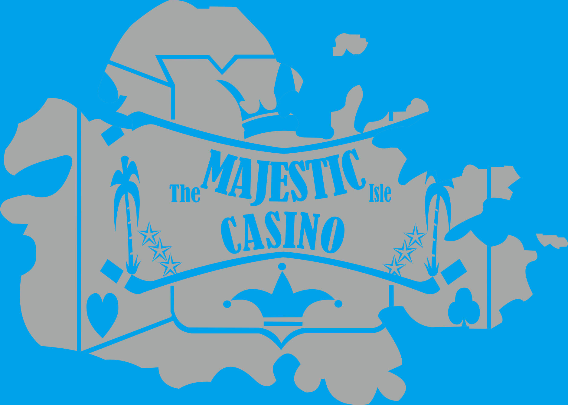 Logo Design by Teguh Hanuraga - Entry No. 26 in the Logo Design Contest New Logo Design for The Majestic Isle Casino.