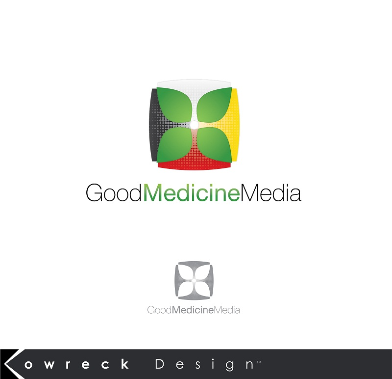 Logo Design by kowreck - Entry No. 217 in the Logo Design Contest Good Medicine Media Logo Design.