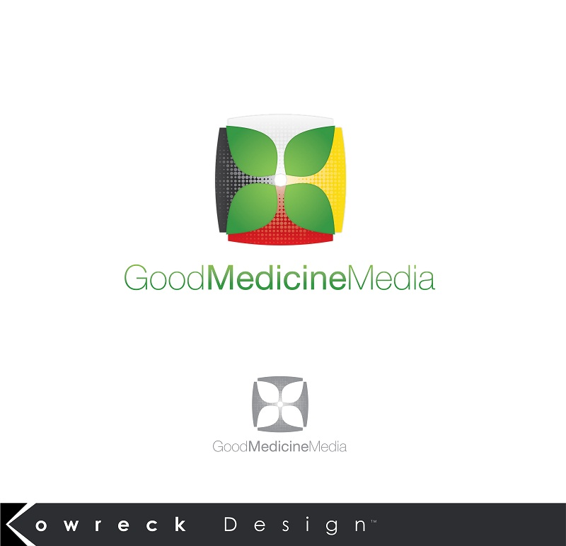 Logo Design by kowreck - Entry No. 218 in the Logo Design Contest Good Medicine Media Logo Design.