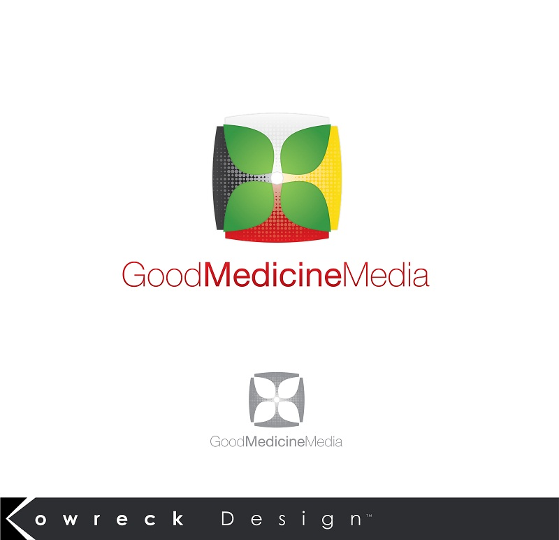 Logo Design by kowreck - Entry No. 221 in the Logo Design Contest Good Medicine Media Logo Design.