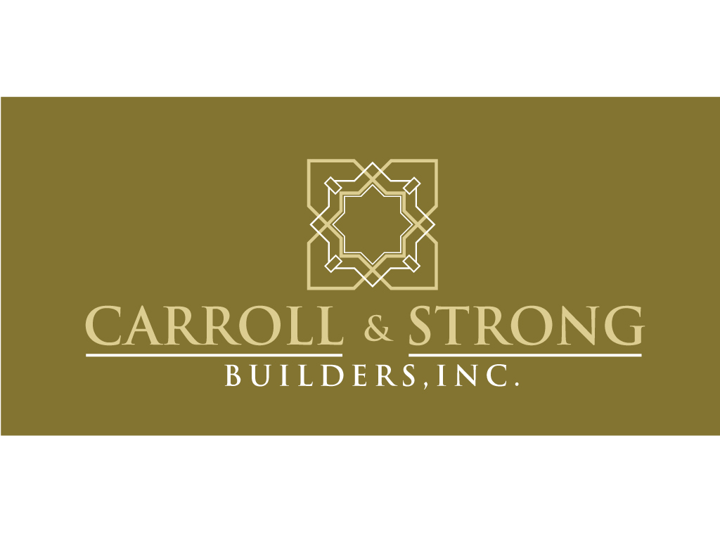 Logo Design by Jagdeep Singh - Entry No. 59 in the Logo Design Contest New Logo Design for Carroll & Strong Builders, Inc..