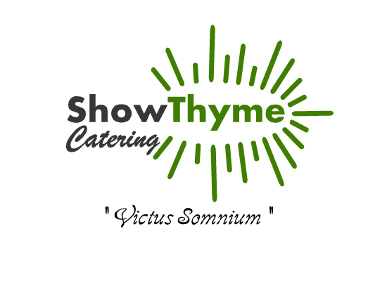 Logo Design by Ismail Adhi Wibowo - Entry No. 24 in the Logo Design Contest Showthyme Catering Logo Design.