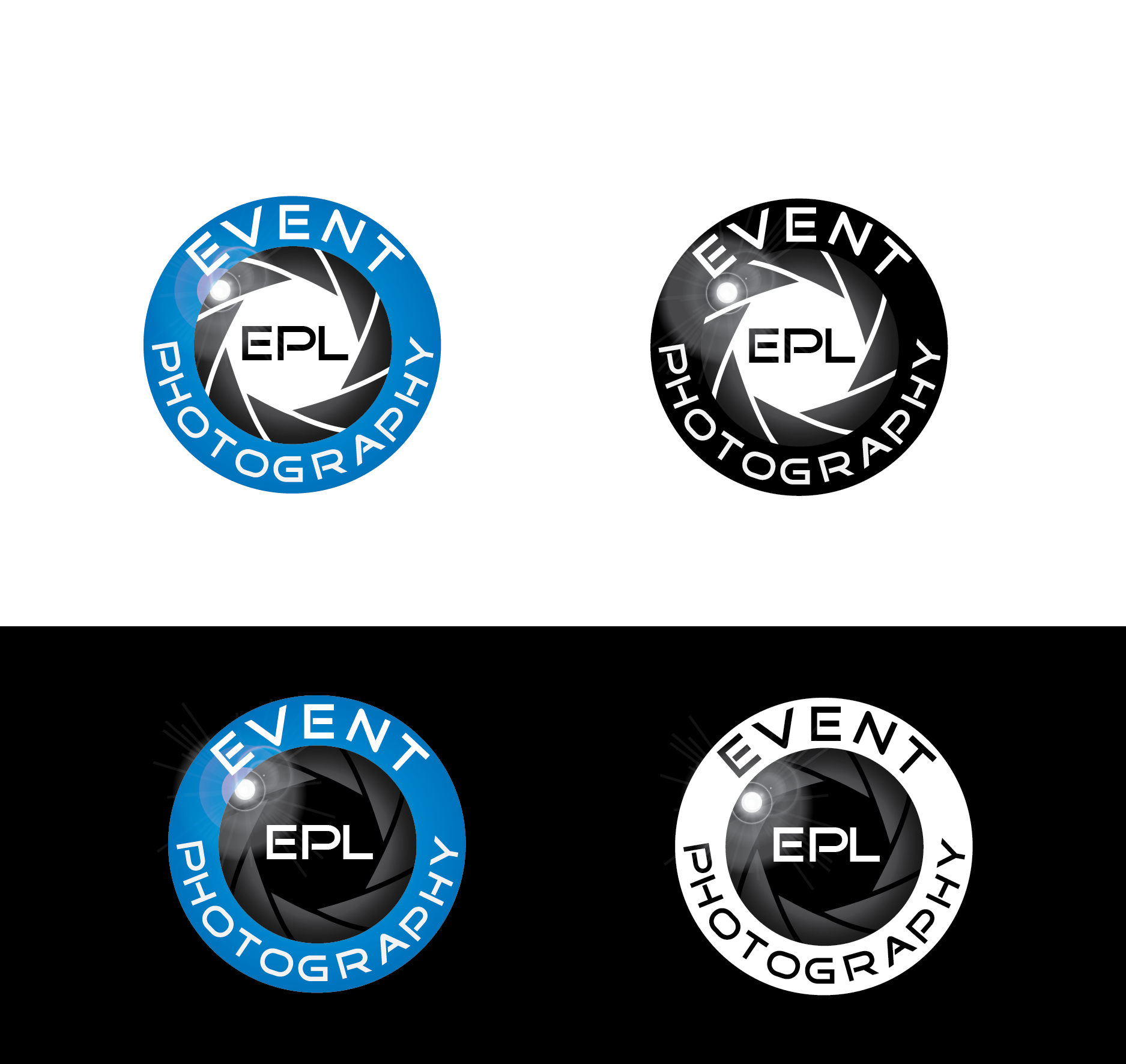 Logo Design by Private User - Entry No. 50 in the Logo Design Contest New Logo Design for EPL Event Photography.
