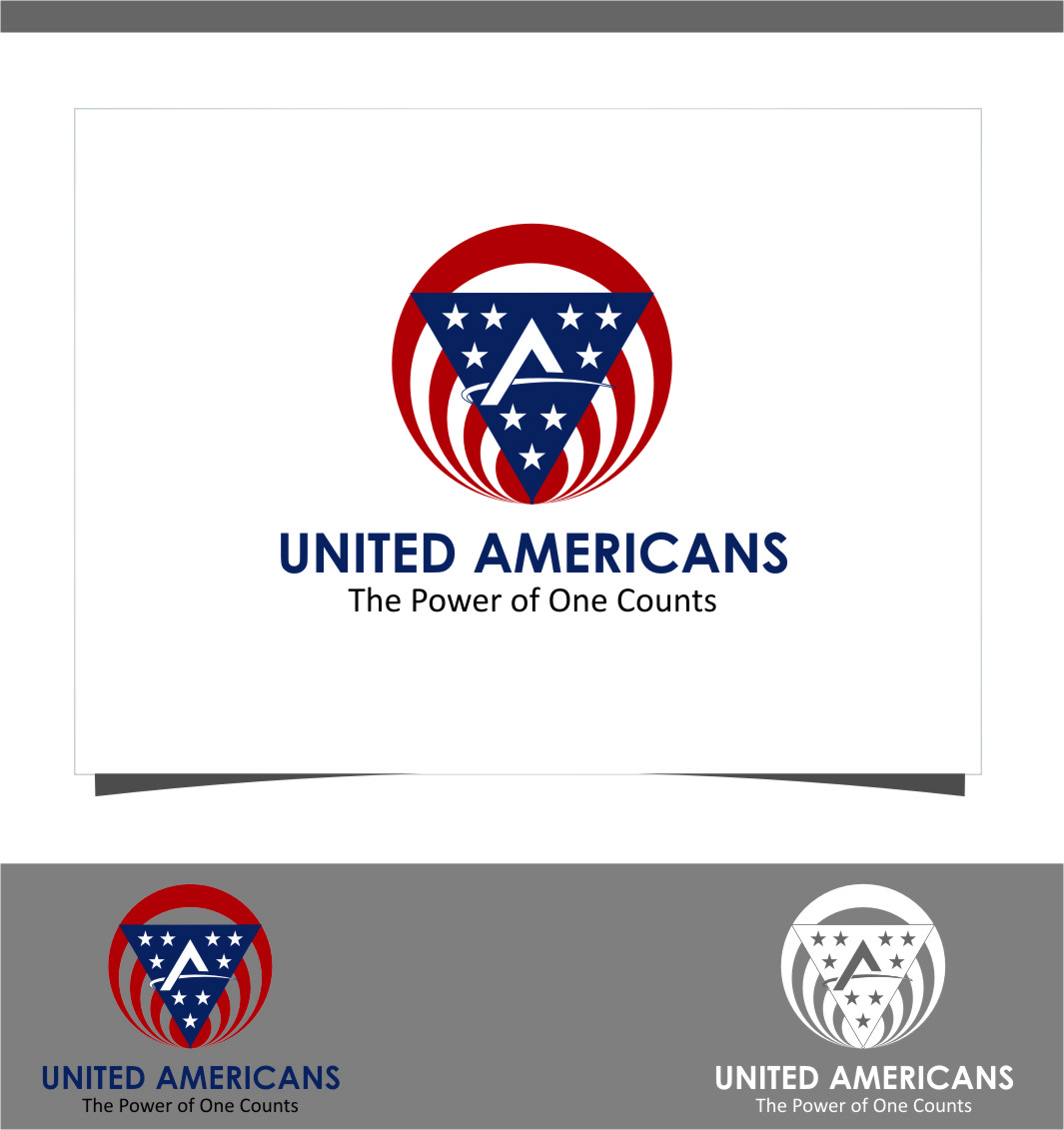 Logo Design by Ngepet_art - Entry No. 108 in the Logo Design Contest Creative Logo Design for United Americans.