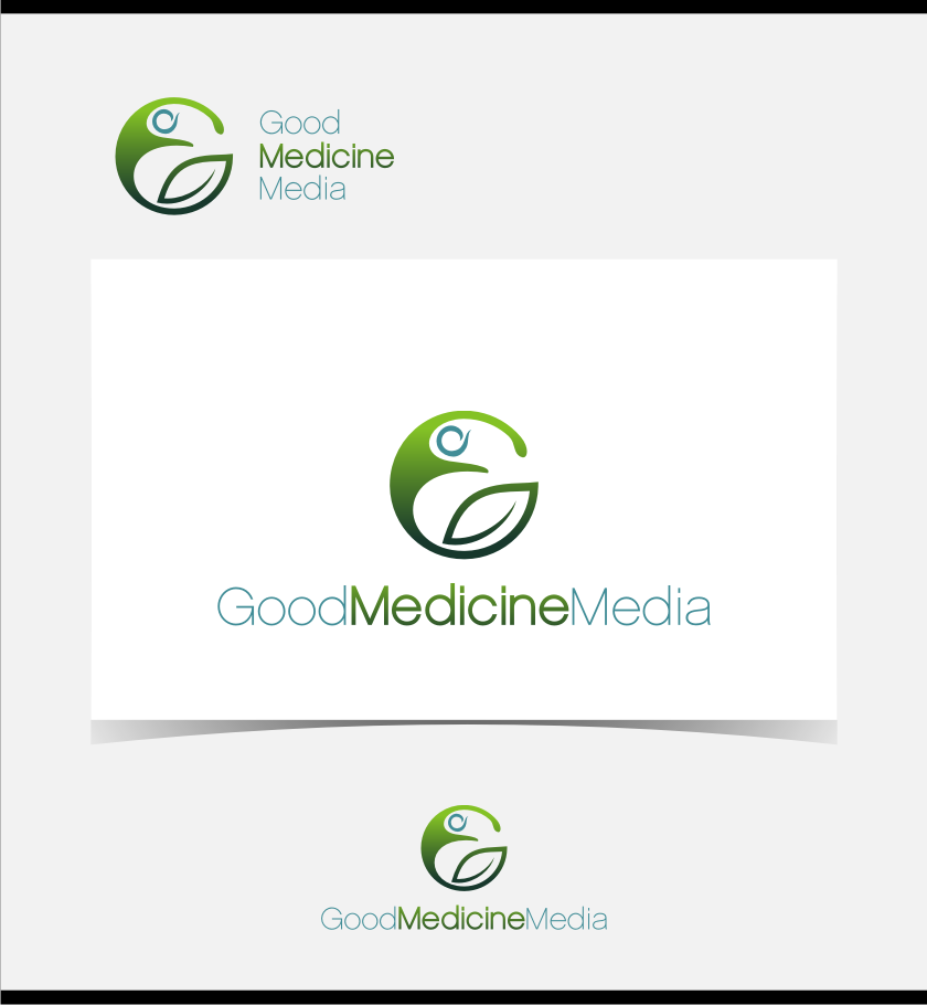 Logo Design by graphicleaf - Entry No. 226 in the Logo Design Contest Good Medicine Media Logo Design.