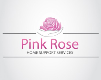 Logo Design by Barcecruz - Entry No. 95 in the Logo Design Contest Pink Rose Home Support Services.