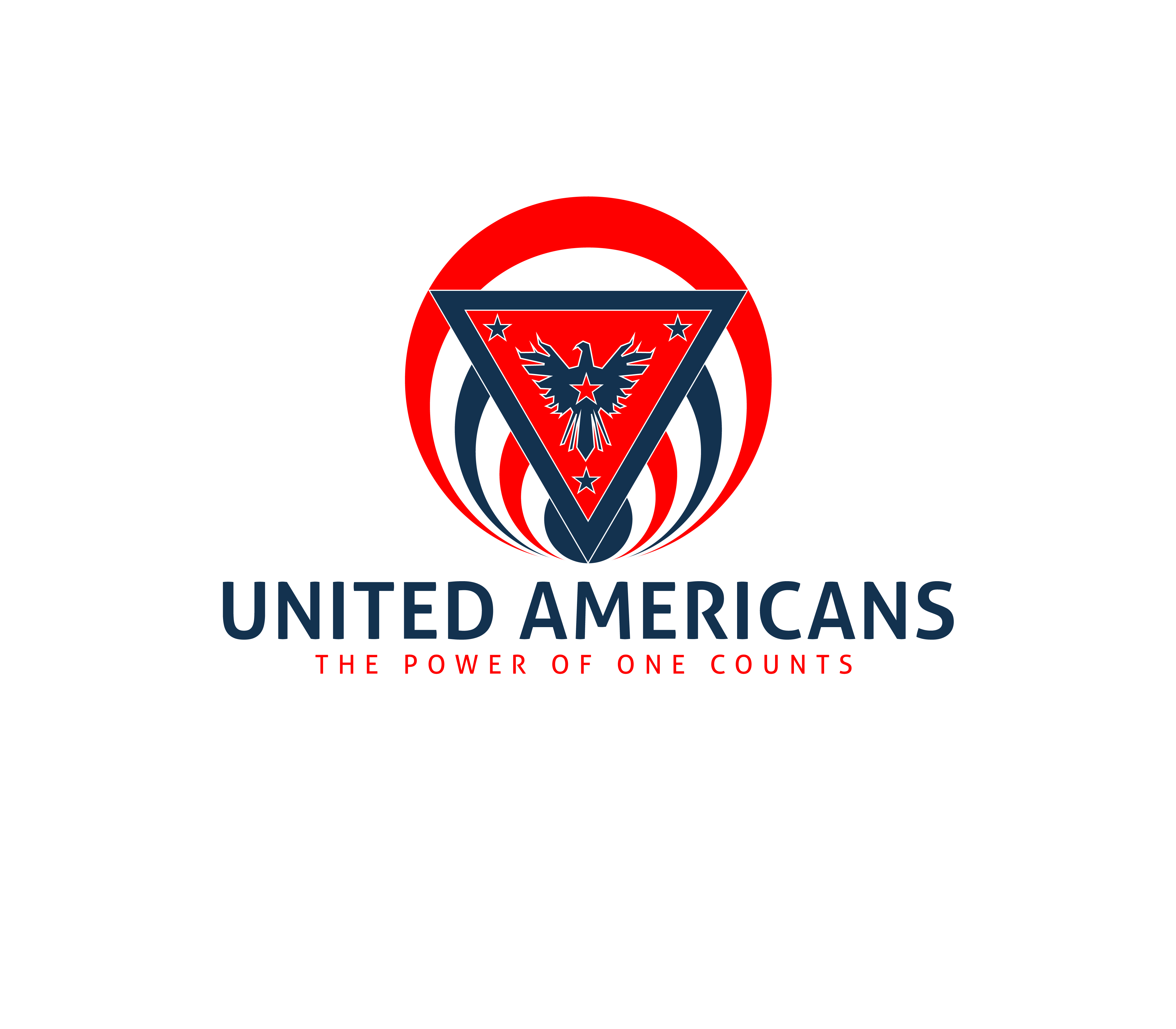Logo Design by 3draw - Entry No. 114 in the Logo Design Contest Creative Logo Design for United Americans.