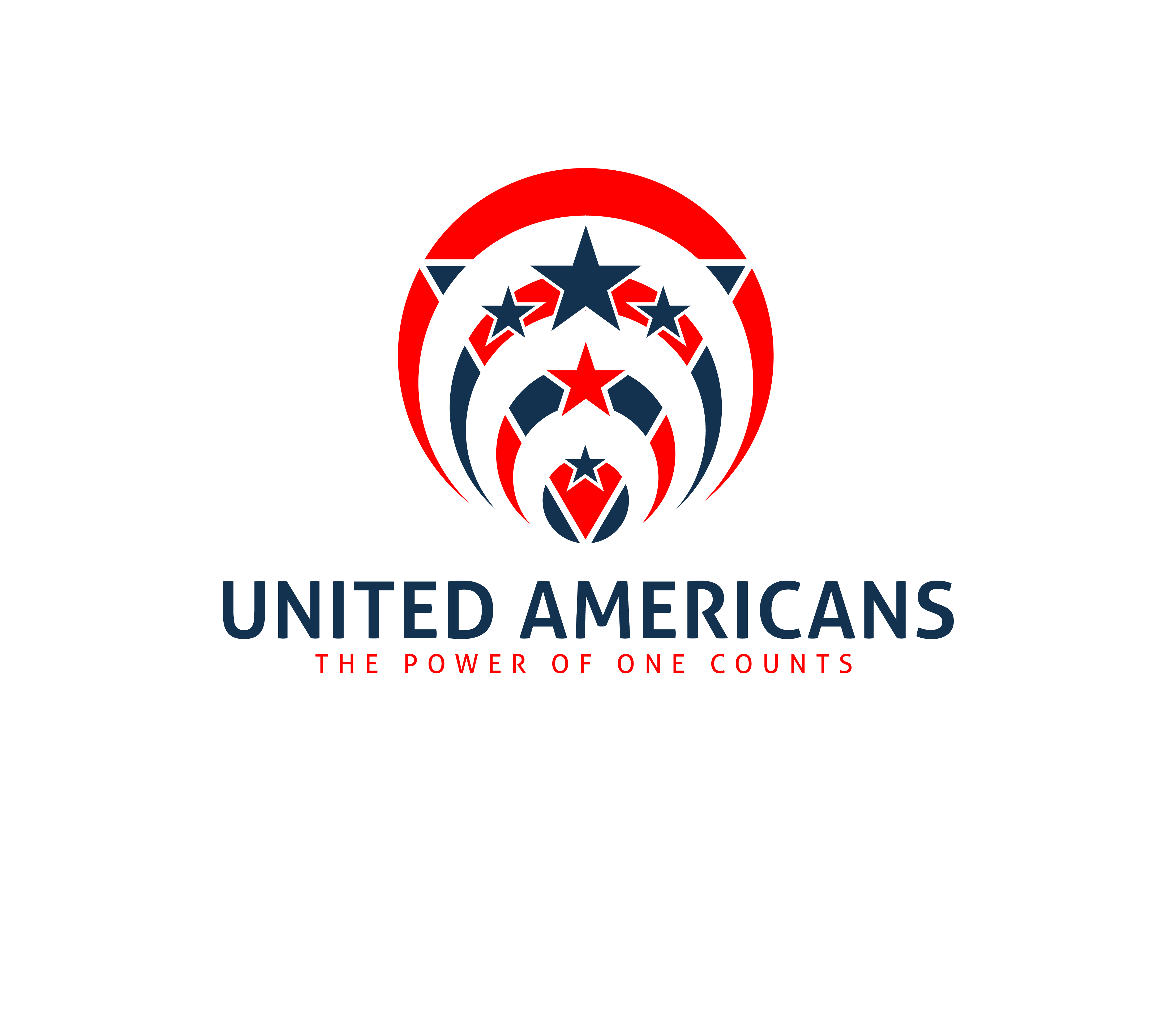 Logo Design by 3draw - Entry No. 115 in the Logo Design Contest Creative Logo Design for United Americans.