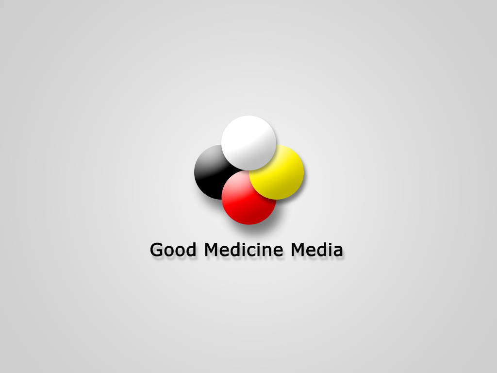 Logo Design by Kostas Vasiloglou - Entry No. 227 in the Logo Design Contest Good Medicine Media Logo Design.