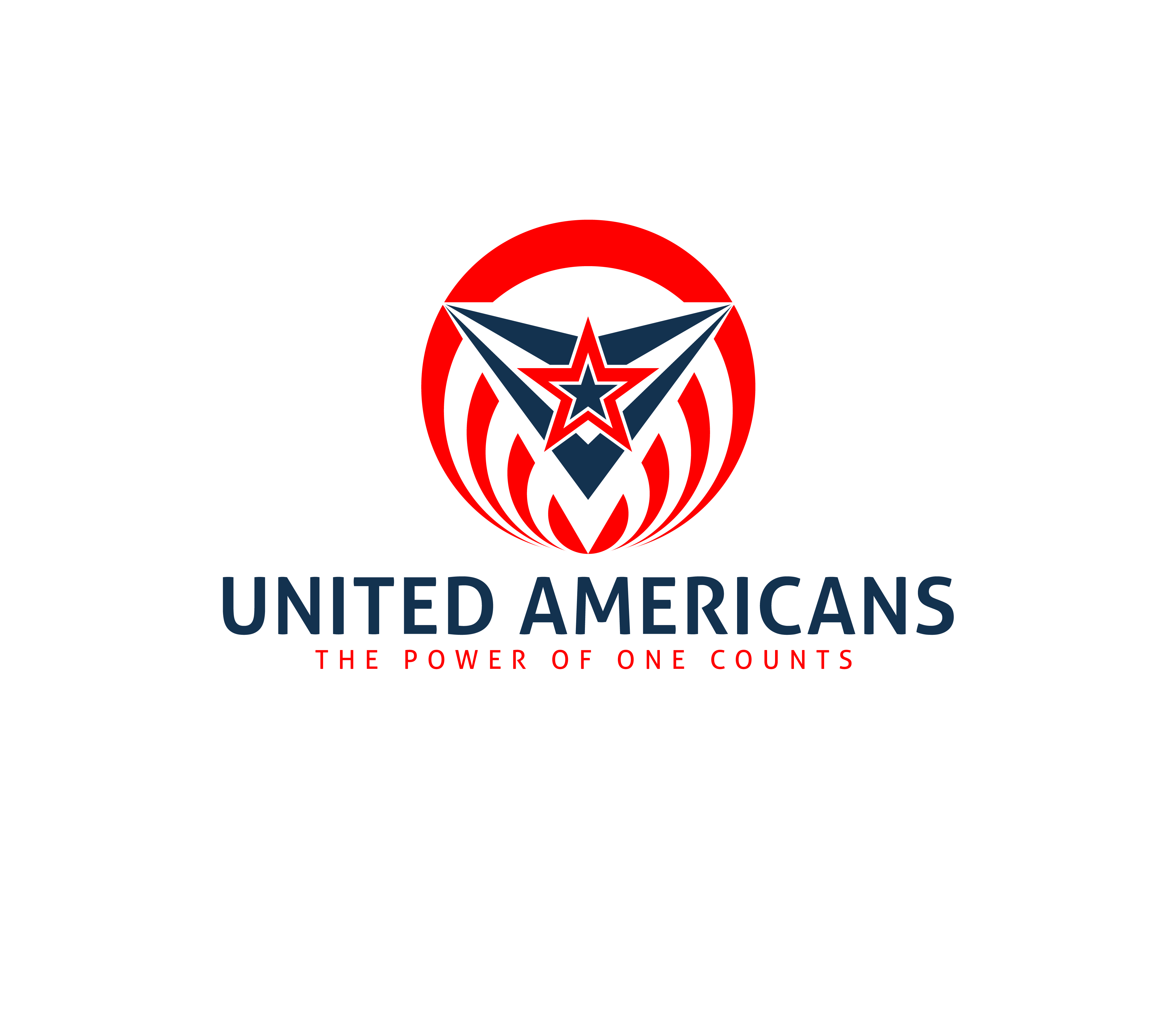 Logo Design by 3draw - Entry No. 117 in the Logo Design Contest Creative Logo Design for United Americans.