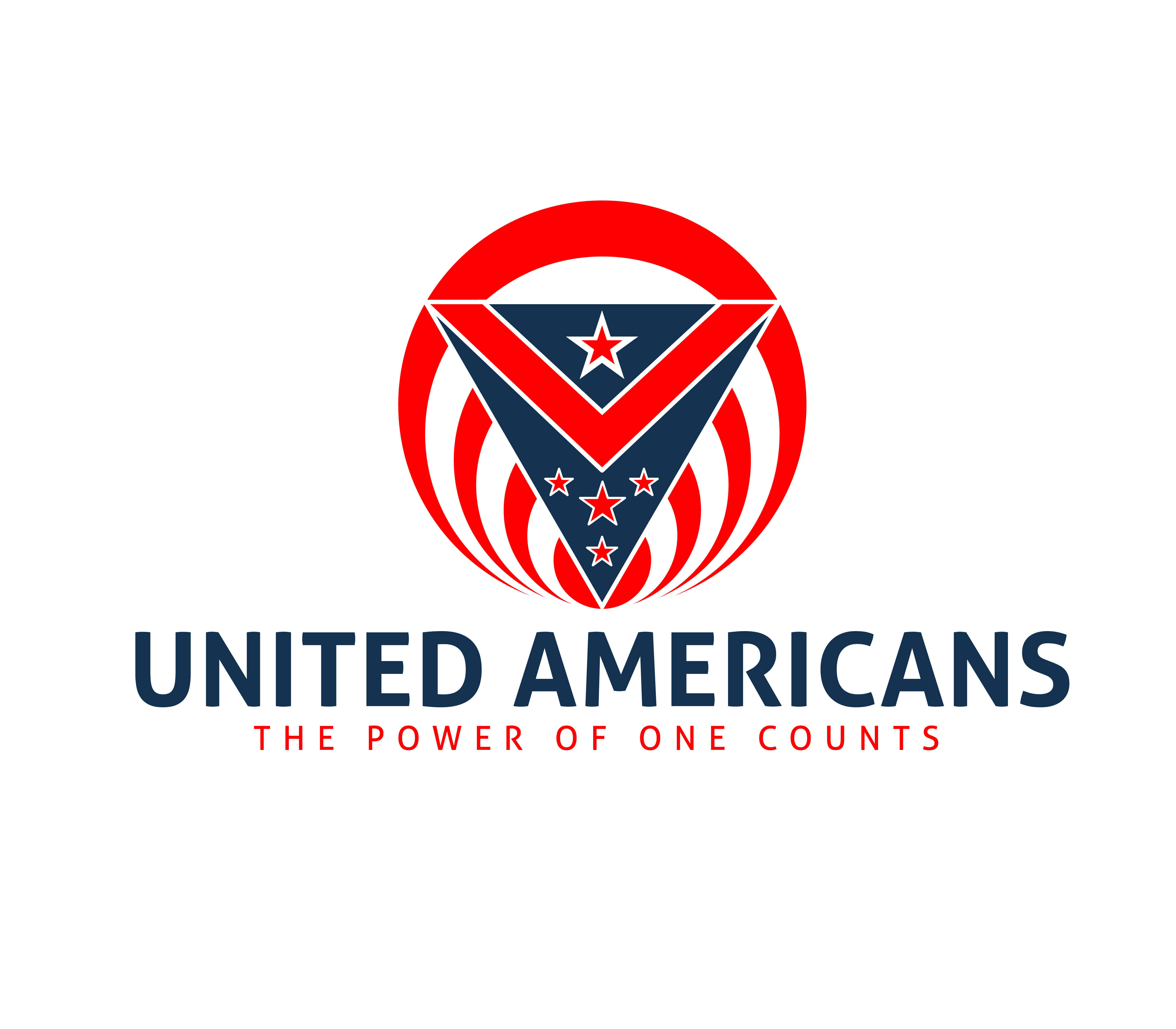 Logo Design by 3draw - Entry No. 123 in the Logo Design Contest Creative Logo Design for United Americans.