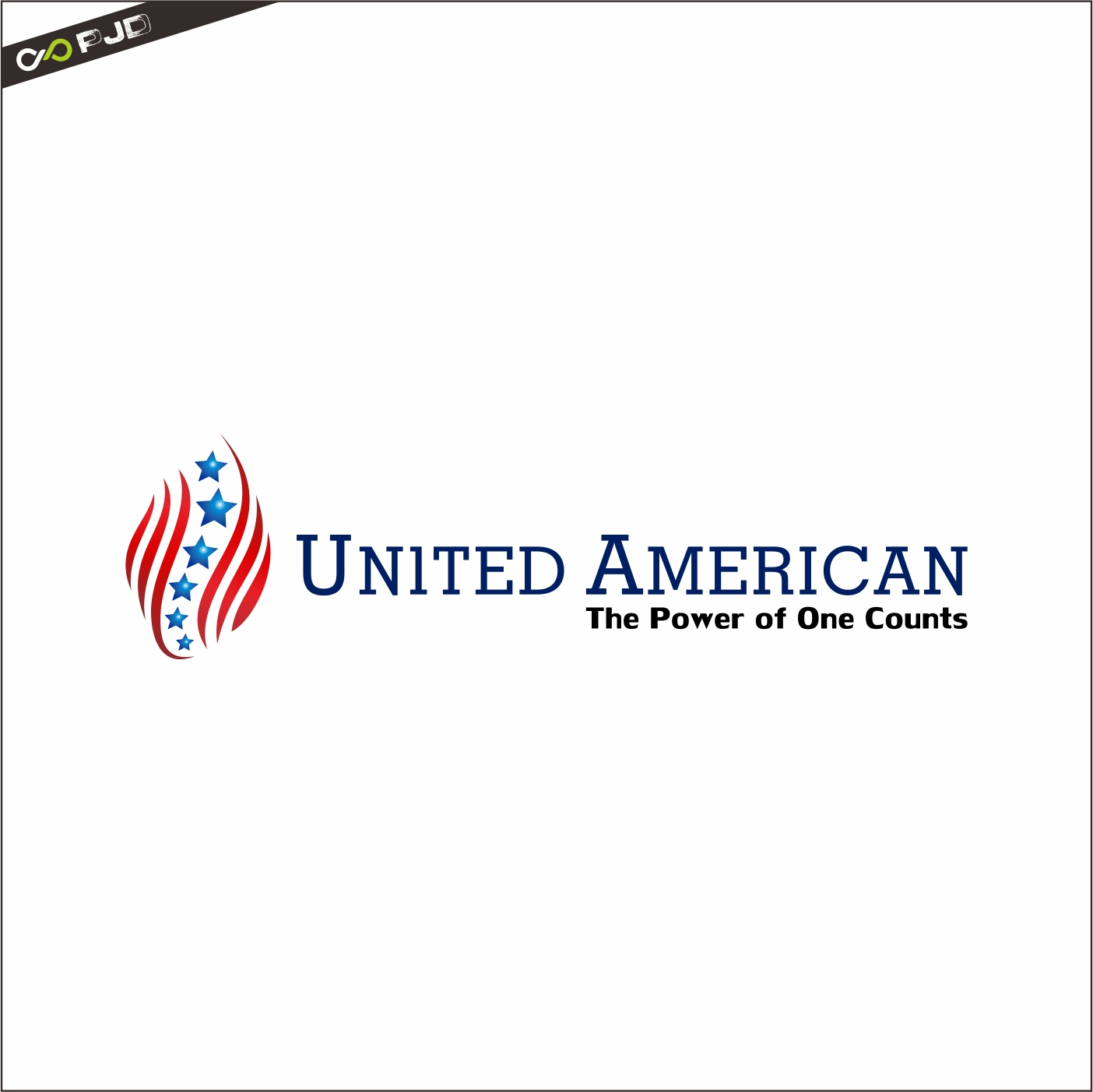 Logo Design by PJD - Entry No. 129 in the Logo Design Contest Creative Logo Design for United Americans.