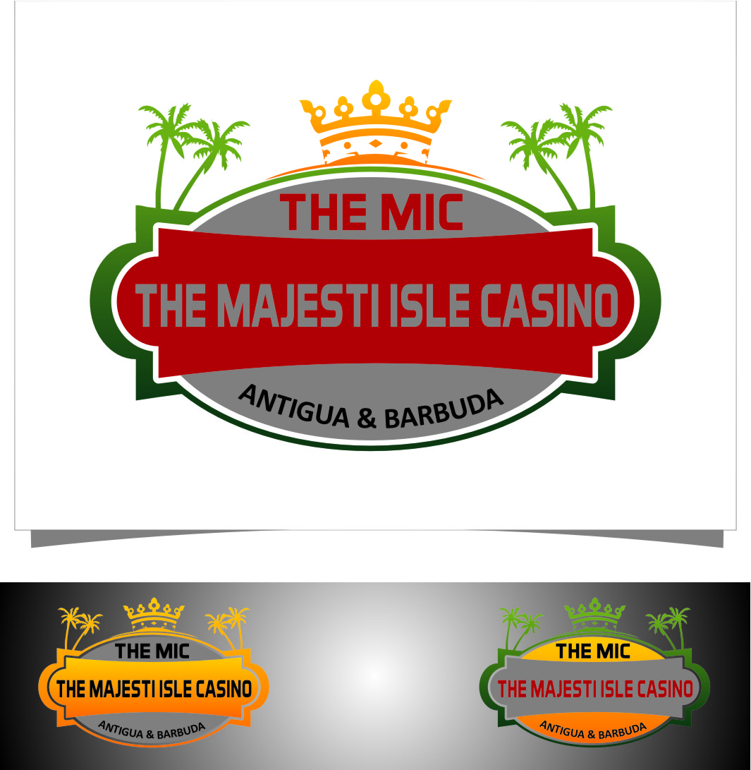Logo Design by RasYa Muhammad Athaya - Entry No. 29 in the Logo Design Contest New Logo Design for The Majestic Isle Casino.