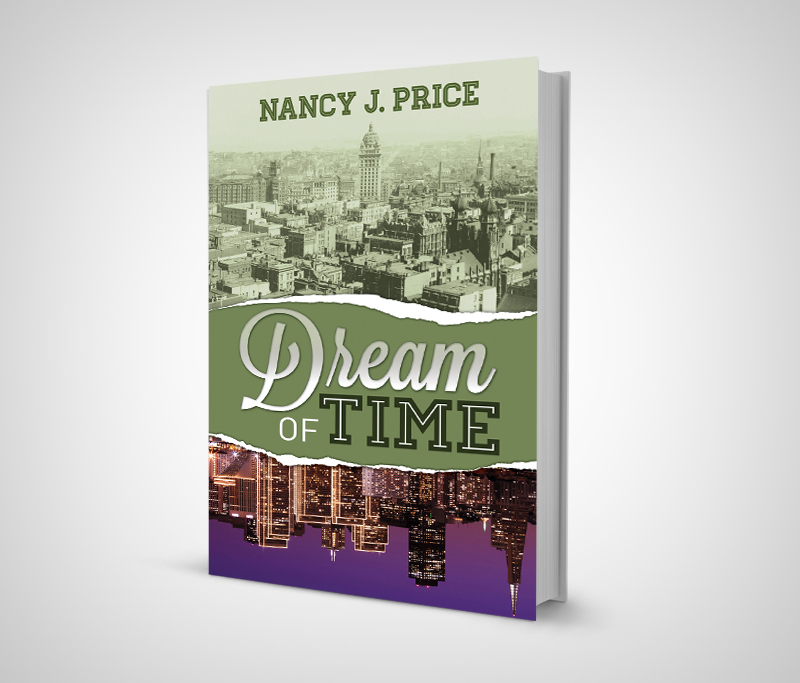 Book Cover Design by nausigeo - Entry No. 12 in the Book Cover Design Contest Fun Book Cover Design for Dream of Time.