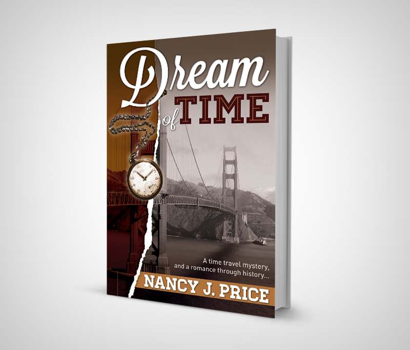 Book Cover Design by nausigeo - Entry No. 14 in the Book Cover Design Contest Fun Book Cover Design for Dream of Time.