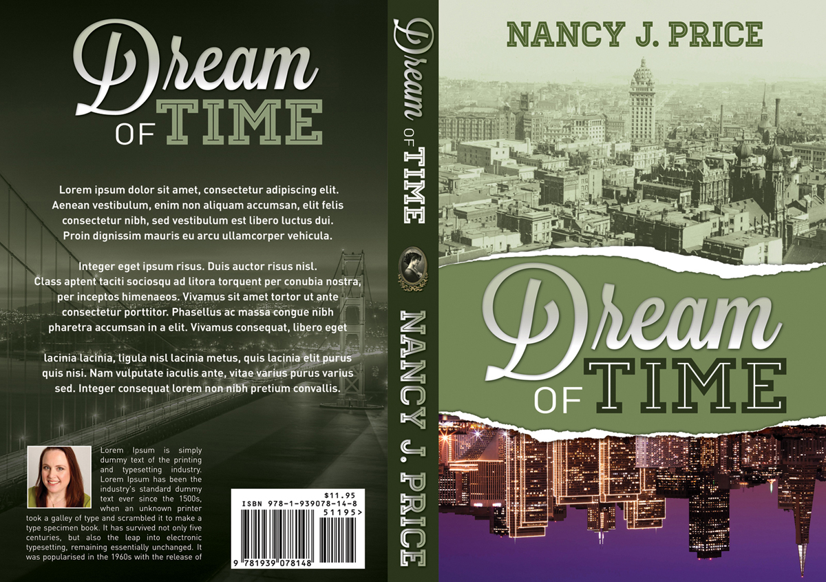 Book Cover Design by nausigeo - Entry No. 18 in the Book Cover Design Contest Fun Book Cover Design for Dream of Time.