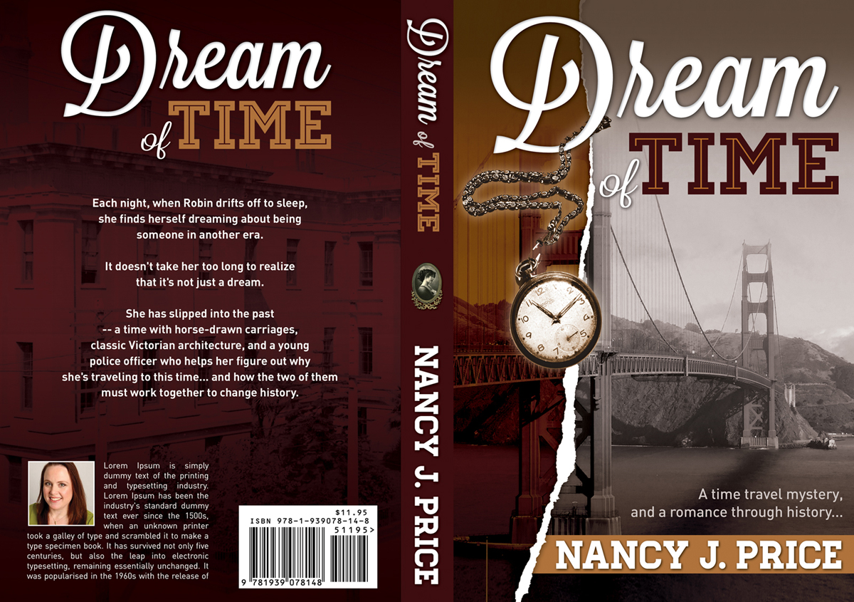 Book Cover Design by nausigeo - Entry No. 19 in the Book Cover Design Contest Fun Book Cover Design for Dream of Time.