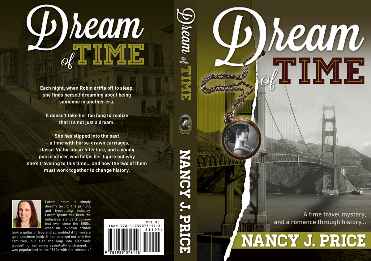 Book Cover Design by nausigeo - Entry No. 20 in the Book Cover Design Contest Fun Book Cover Design for Dream of Time.