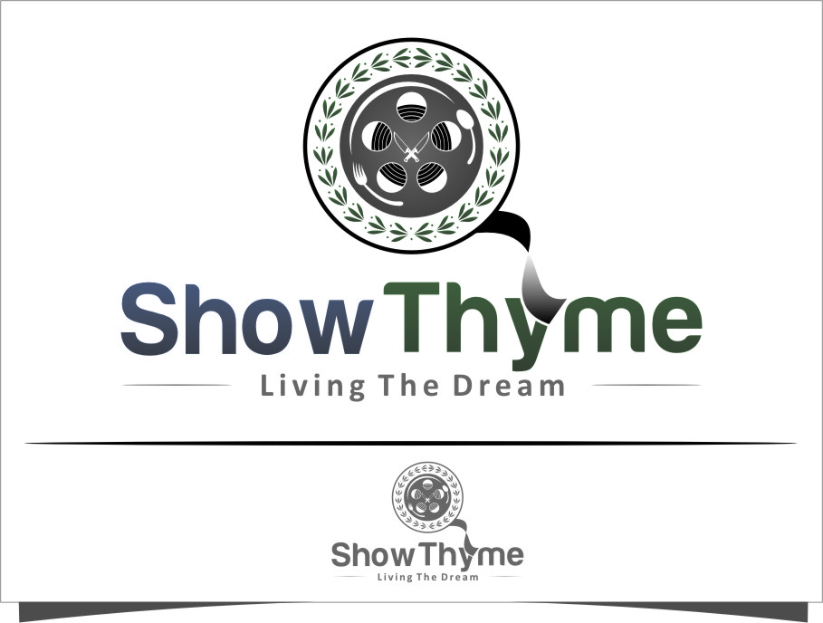 Logo Design by RoSyid Rono-Rene On Java - Entry No. 27 in the Logo Design Contest Showthyme Catering Logo Design.
