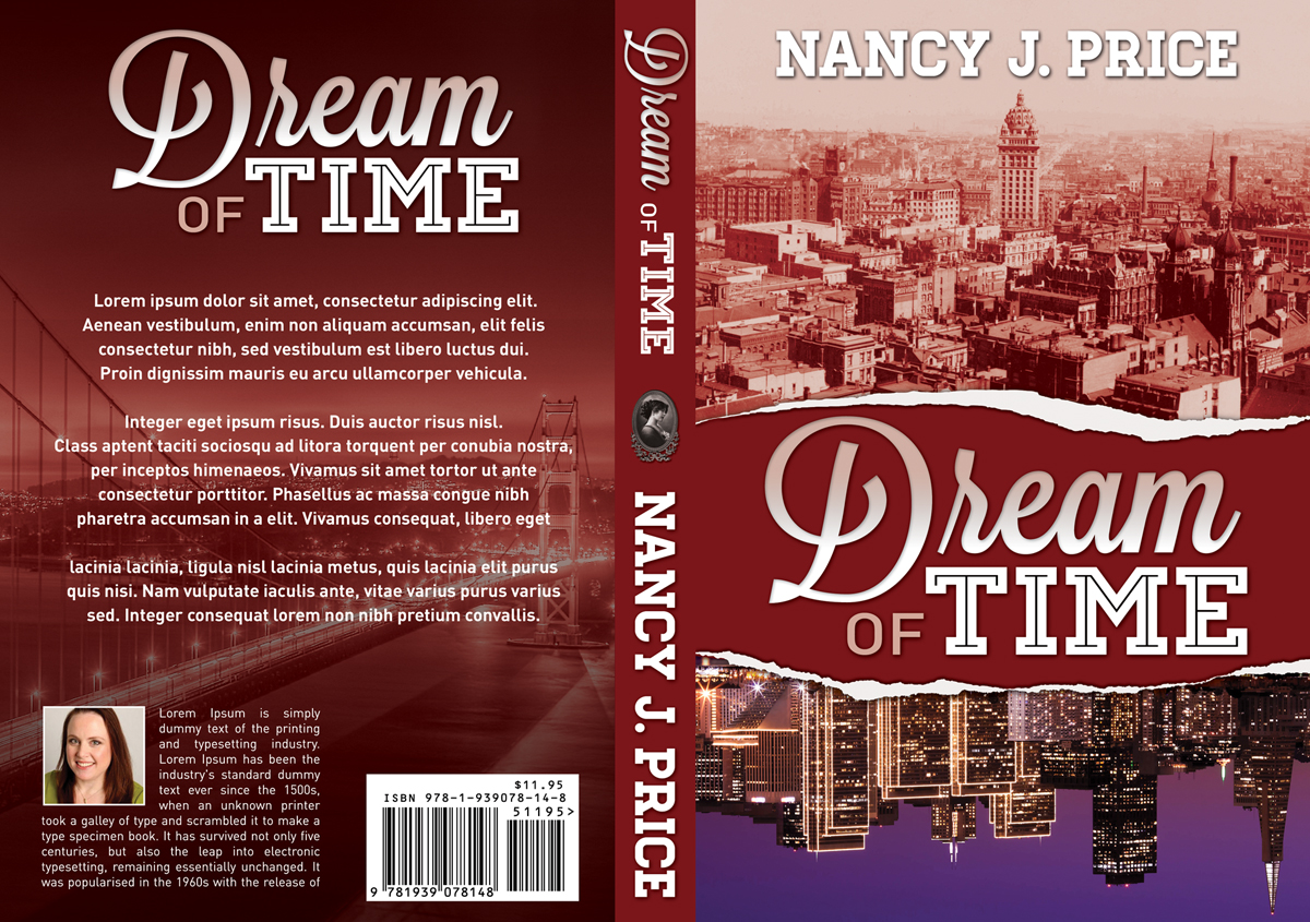 Book Cover Design by nausigeo - Entry No. 21 in the Book Cover Design Contest Fun Book Cover Design for Dream of Time.