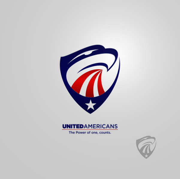 Logo Design by Private User - Entry No. 135 in the Logo Design Contest Creative Logo Design for United Americans.