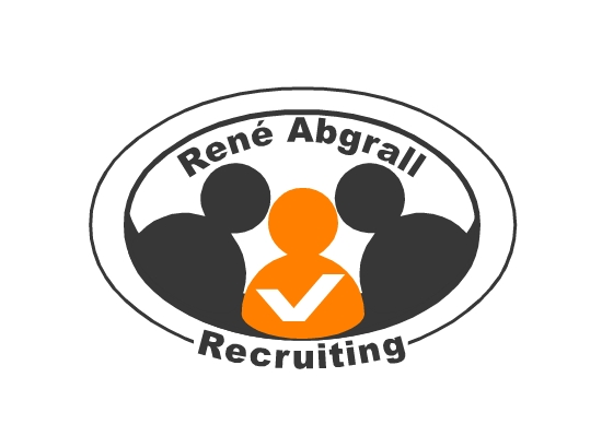 Logo Design by Ismail Adhi Wibowo - Entry No. 2 in the Logo Design Contest Artistic Logo Design for René Abgrall Recruiting.