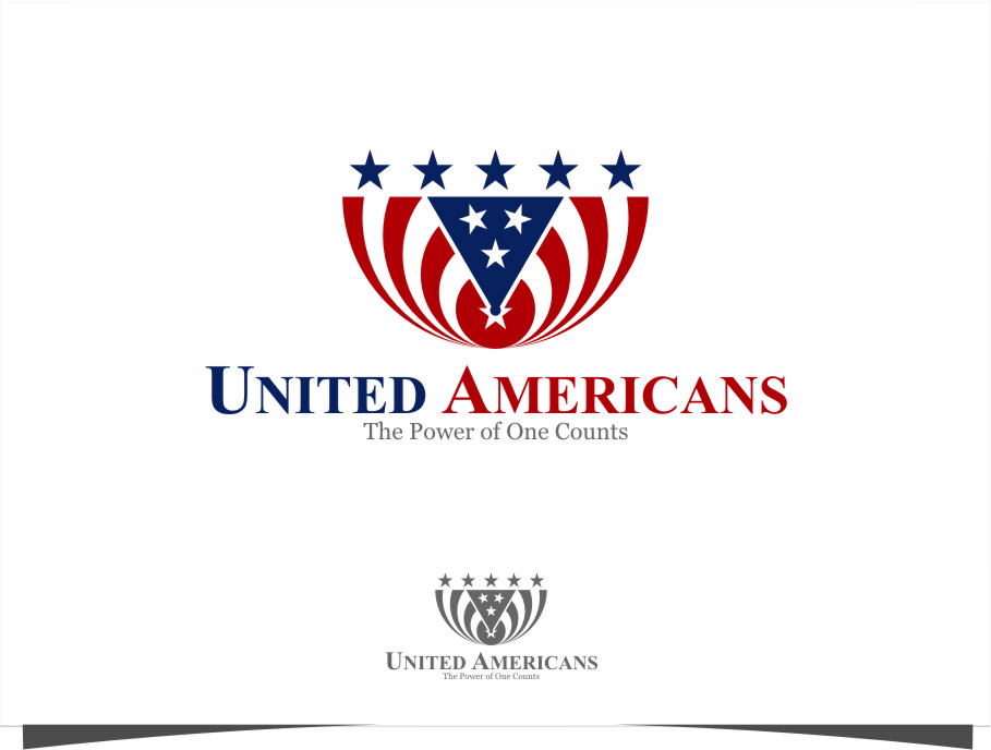 Logo Design by RasYa Muhammad Athaya - Entry No. 136 in the Logo Design Contest Creative Logo Design for United Americans.