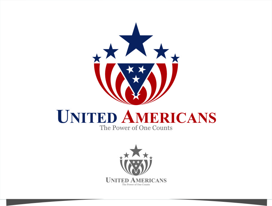 Logo Design by Ngepet_art - Entry No. 137 in the Logo Design Contest Creative Logo Design for United Americans.