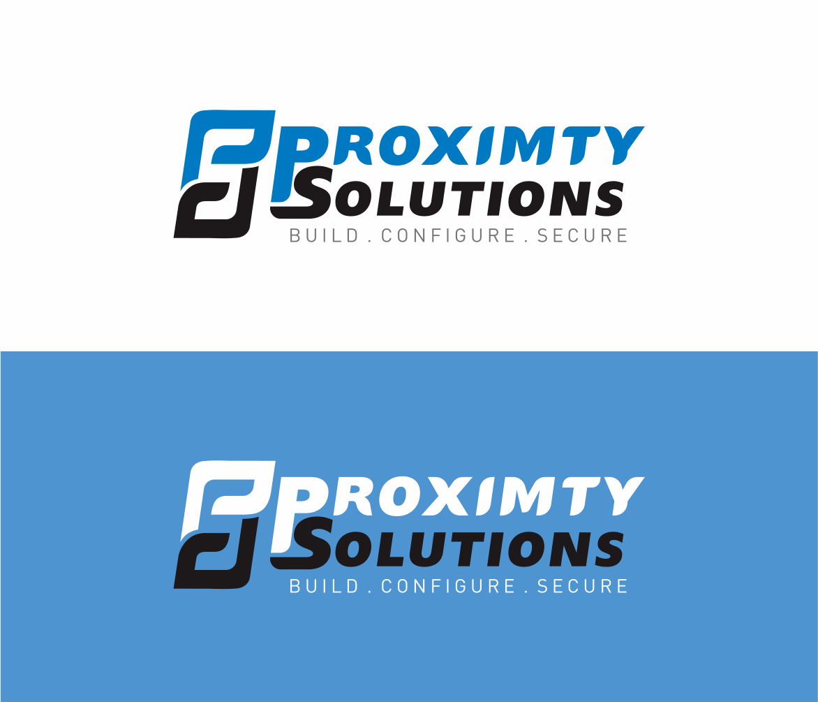 Logo Design by Armada Jamaluddin - Entry No. 133 in the Logo Design Contest New Logo Design for Proximity Solutions.