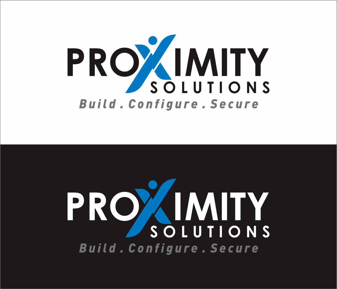 Logo Design by Armada Jamaluddin - Entry No. 134 in the Logo Design Contest New Logo Design for Proximity Solutions.
