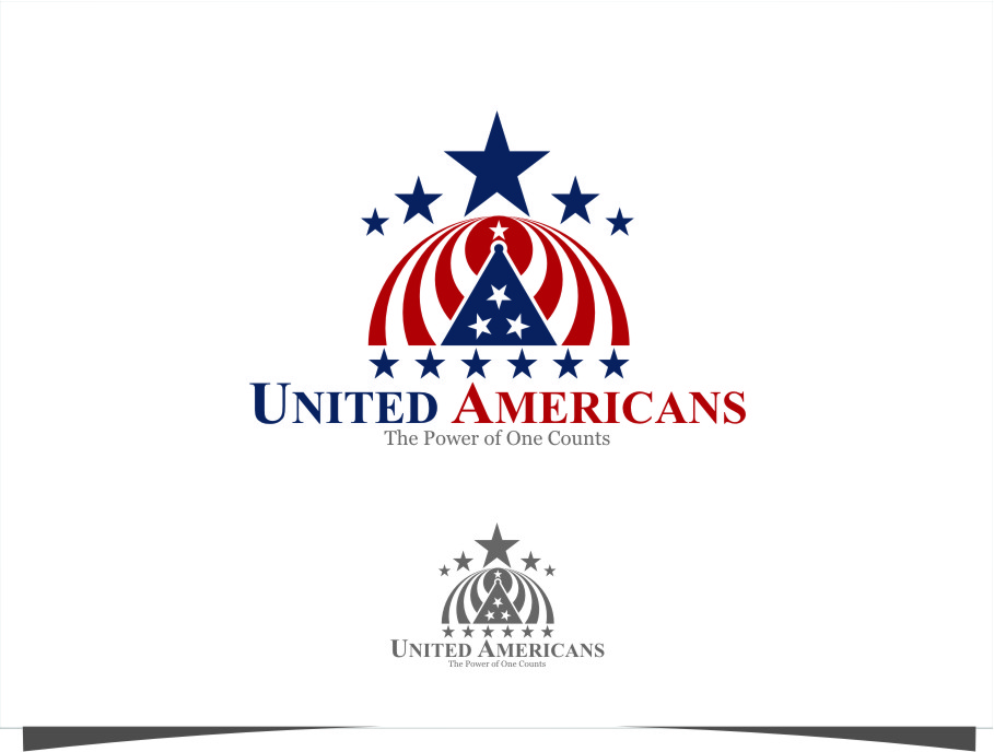 Logo Design by Ngepet_art - Entry No. 138 in the Logo Design Contest Creative Logo Design for United Americans.