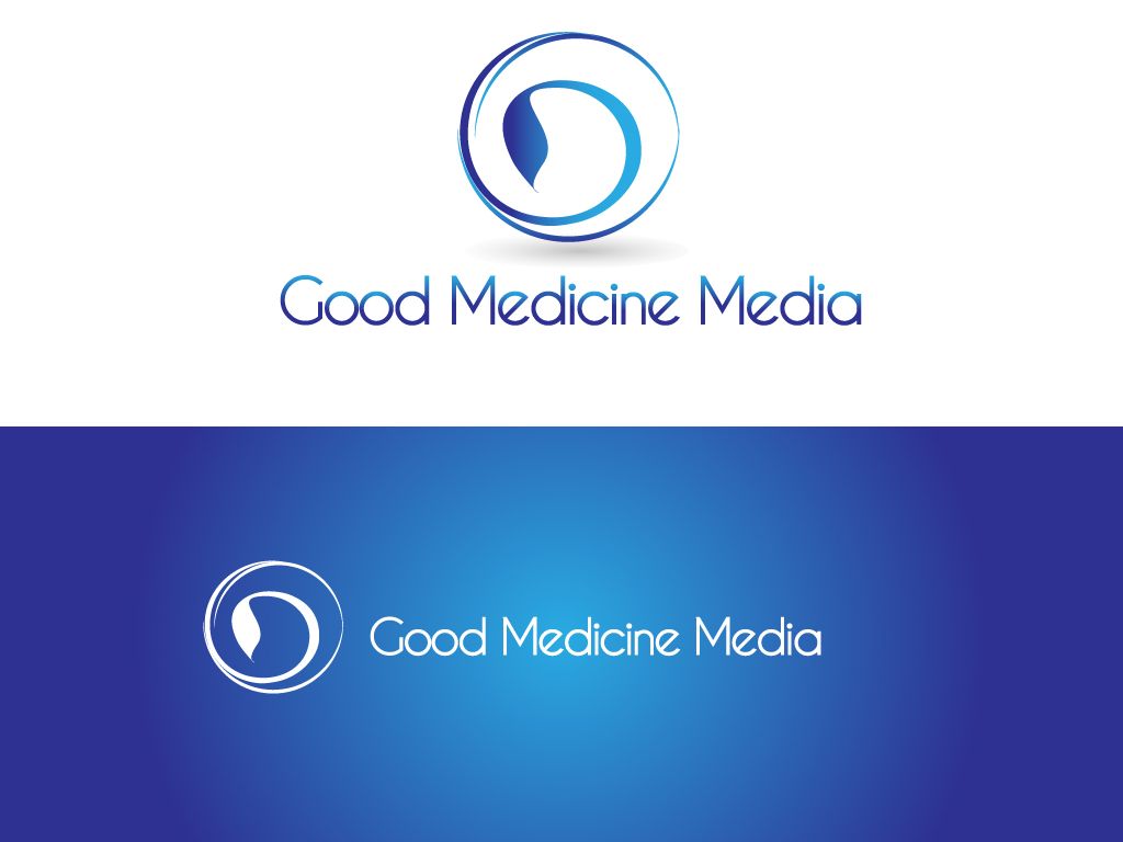 Logo Design by Jagdeep Singh - Entry No. 230 in the Logo Design Contest Good Medicine Media Logo Design.
