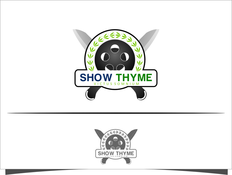 Logo Design by Ngepet_art - Entry No. 32 in the Logo Design Contest Showthyme Catering Logo Design.