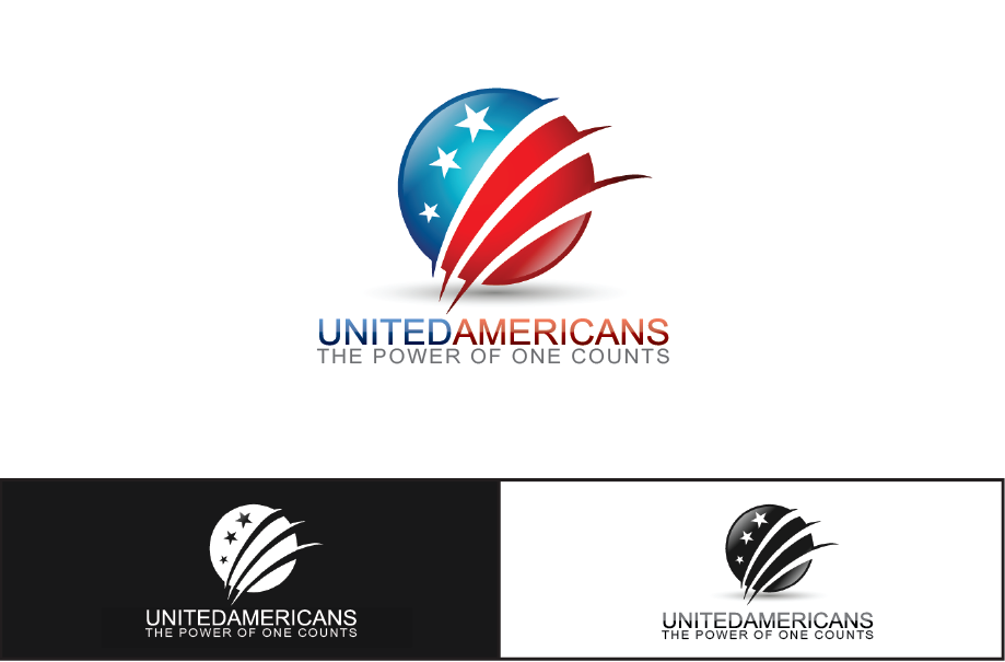 Logo Design by Private User - Entry No. 141 in the Logo Design Contest Creative Logo Design for United Americans.